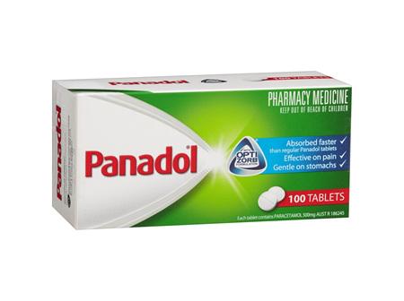 PANADOL Optizorb 100tabs 8561