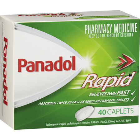 Panadol Rapid Caplets 40