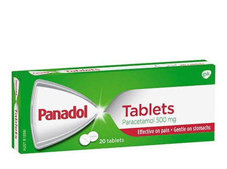 PANADOL TABS 500MG 20