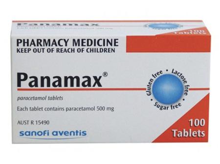 PANAMAX    TAB 500MG 100