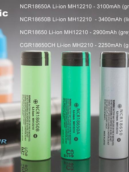 Panasonic 18650 Li-Ion Battery