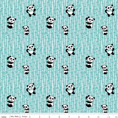 Panda Love Bamboo Aqua