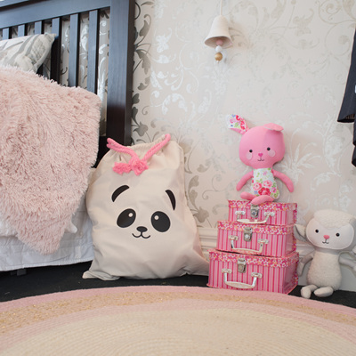 Panda Toy Sack