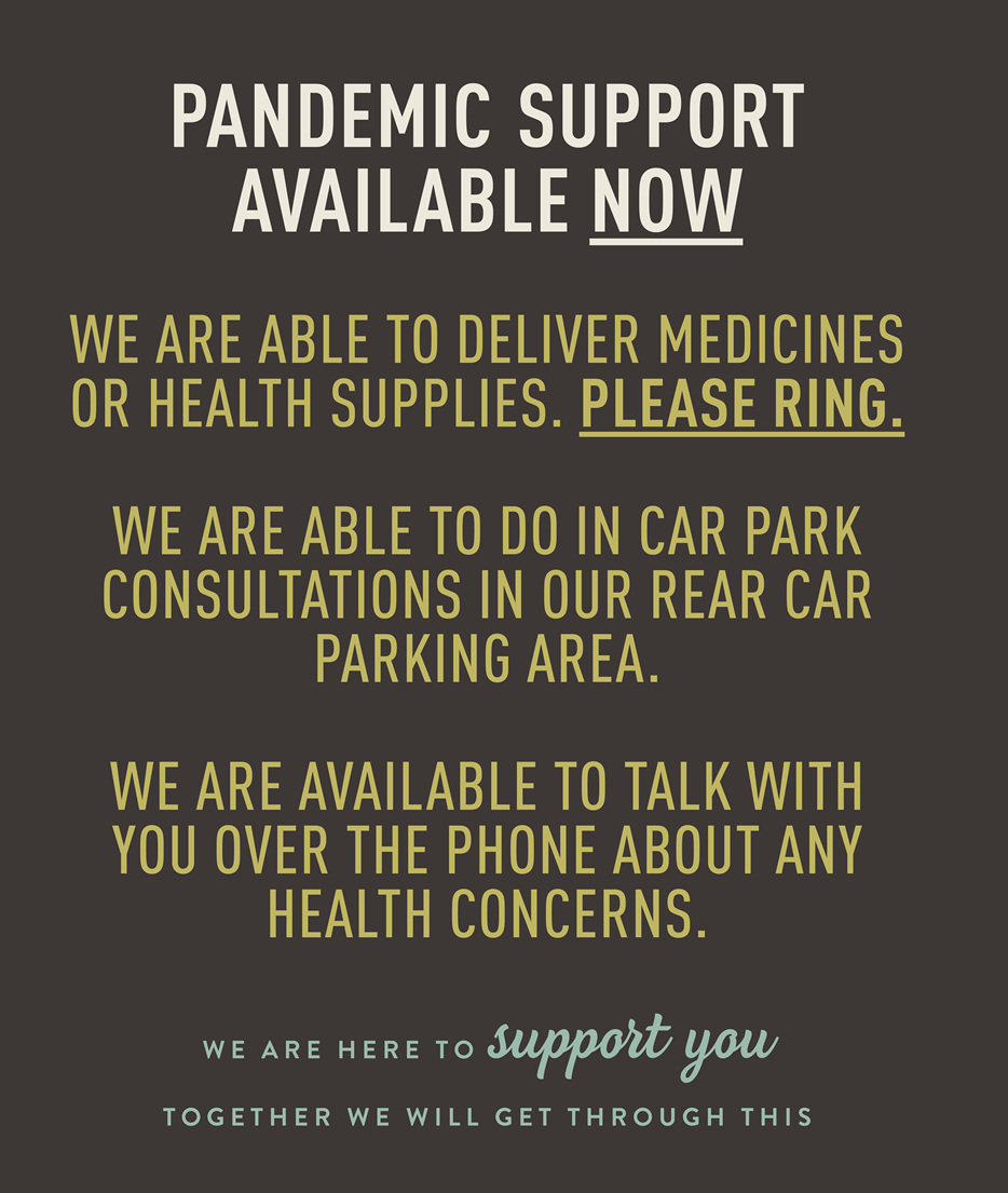 PANDEMIC SUPPORT AVAILABLE NOW