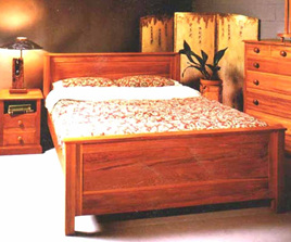 Orchard Road Panel Bed
