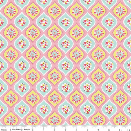 Paper Daisies Cermic Yellow C8881-Yellow