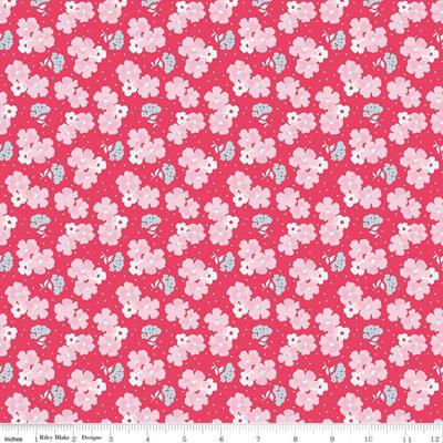 Paper Daisies Posey Dark Pink C8884.DkPink