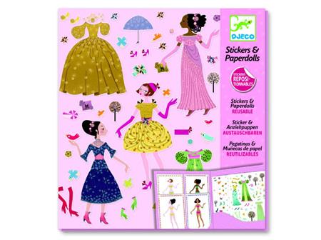 Paper Dolls - Dresses Seasons
