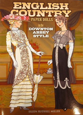 Paper Dolls - English Country in the Downton Abbey Style