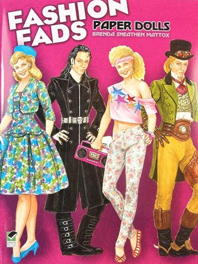 Paper Dolls - Fashion Fads