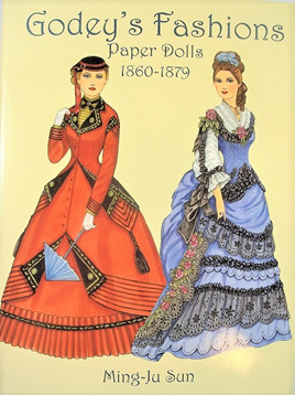Paper Dolls - Godey's Fashions 1860 - 1879