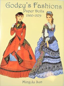 Paper Dolls - Godey's Fashions 1860 - 1879