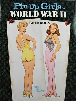 Paper Dolls - Pin Up Girls of World War II