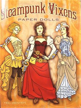 Paper Dolls - Steampunk Vixens