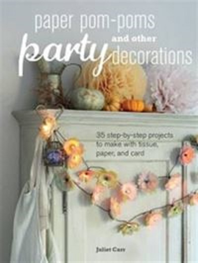 Paper Poms Poms and Other Party Decorations