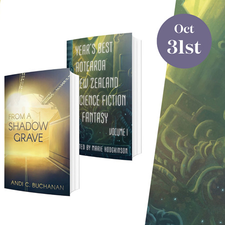 Paper Road Press's Halloween Double Book Launch
