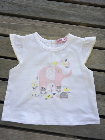 Papoose Geometric  Elephant top