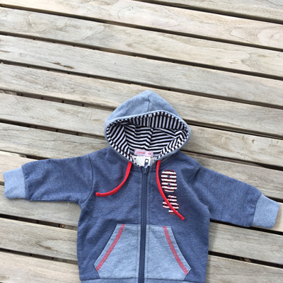 Papoose hooded sweat