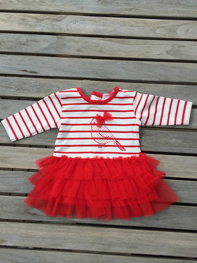 Papoose long sleeved tutu dress