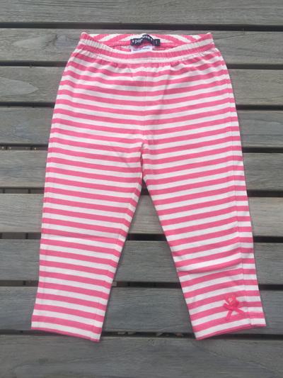Papoose pinks stripped leggings