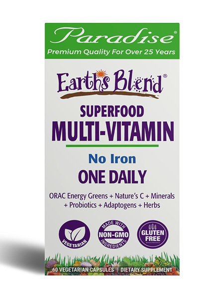 Paradise Herbs, ORAC-Energy, Earth's Blend, One Daily Superfood Multivitamin,