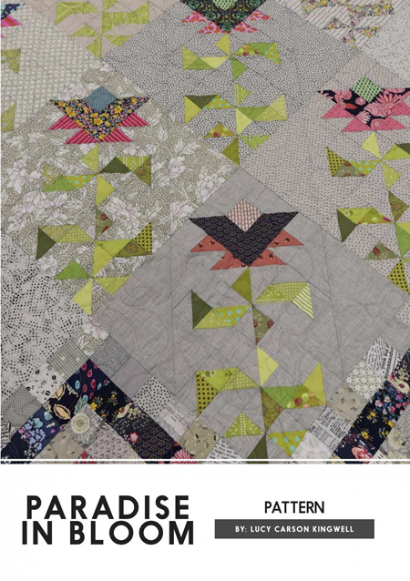 Paradise in Bloom Quilt Pattern