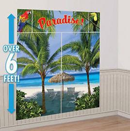 Paradise Palm Tree Scene Setter