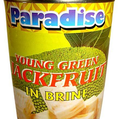 Paradise Young Green Jackfruit in Brine 565gm
