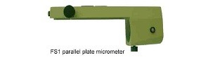 Parallel plate micrometer
