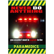Paramedics Fridge Magnet