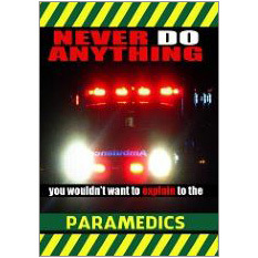 Paramedics Fridge Magnet