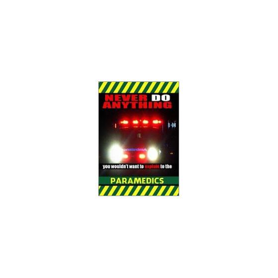 paramedics fridge magnet gift