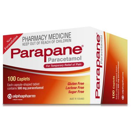 PARAPANE 500MG TAB 100