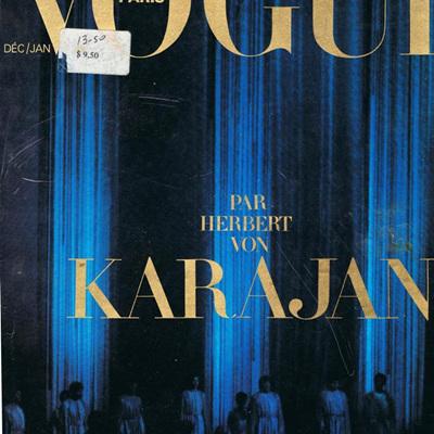 Vintage Paris Vogue