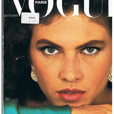 Paris Vogue Septembre 1980