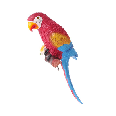 Resin Macaw Parrot