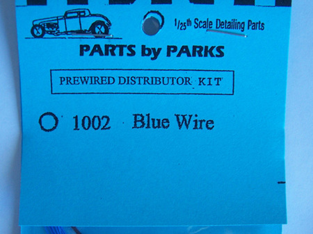 Parts by Parks Prewired Distributor Kit 1002 Blue