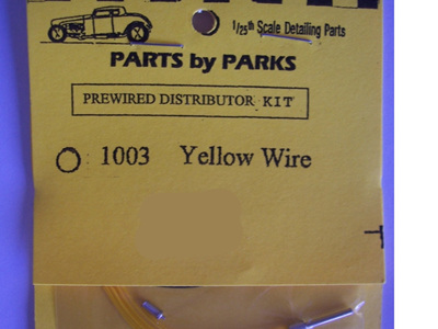 Parts by Parks Prewired Distributor Kit 1003 Yellow