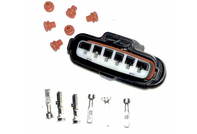 parts TPS Mazda 6 way connector