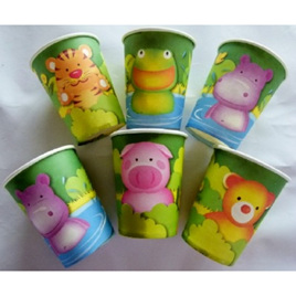 Party Animals Cups x 6