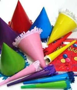 Party Favour Pack - 18 Piece - Neon Trim