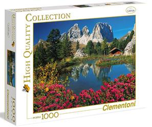 Clementoni 1000 Piece Jigsaw puzzle: Passo Pordoi -  Italian Collection
