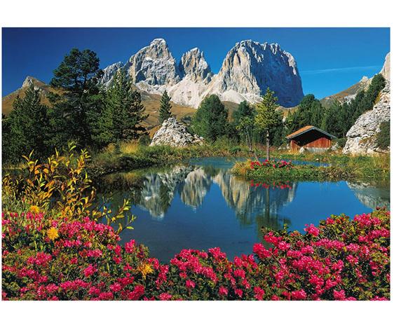 Passo Pordoi Clementoni 1000 piece jigsaw puzzle buy at www.puzzlesnz.co.nz