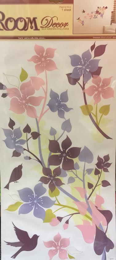 Pastel Flowers Wall Decal