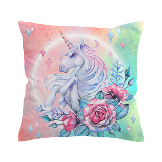 Pastels Unicorn  Cushion Cover