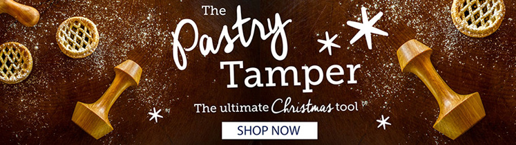 Pastry Tamper - the ultimate Christmas tool