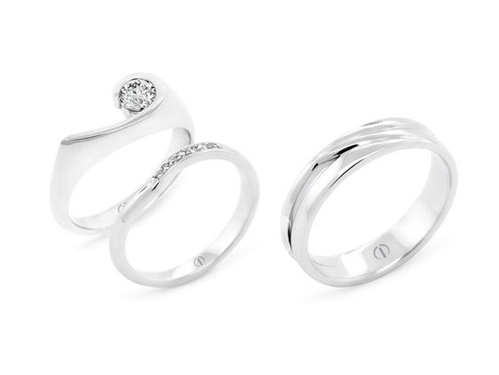 Patai Delicate - Brilliant cut diamond engagement ring