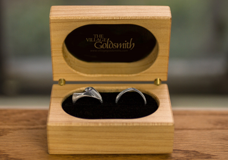 patai diamond engagement ring and diamond wedding ring