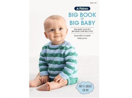 Patons: 1101 Big Book Of Big Baby