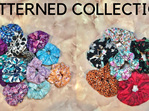 Patterned Scrunchies